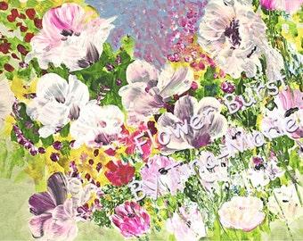 Flower Burst - Digital Image