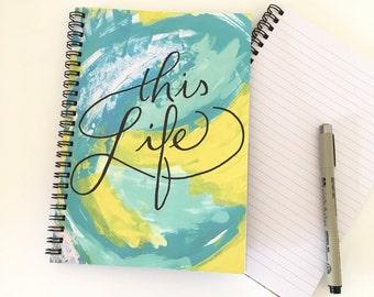This life, gratitude journaling, travel diary, gratitude journal, travelers notebook, travel memory journal, travel journal, gratitude book