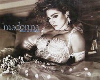 Madonna - LIke a Virgin Vinyl Record Album (1984)