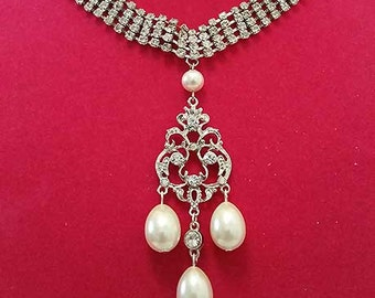 Joesaphine Neclace and Earring Set