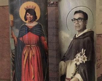 St Carrie Brownstein Fred Armisen Portlandia Prayer Candles
