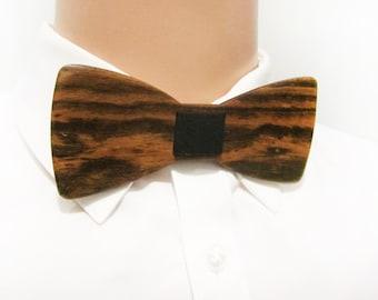 Wooden Bow Tie - BOCOTE WOOD - Self Tie Bow Tie - Men Formal Wear