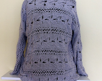 Sweater gray - vintage - is delivered without postage