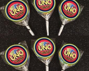UNO lollipops (12)