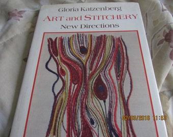 Needlepoint and Embroidery Book - Gloria Katzenberg Art and Stitchery New Directions