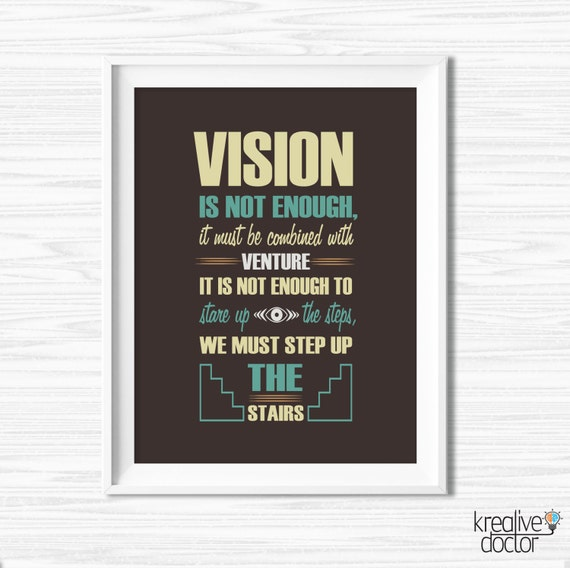 Office wall art success quotes motivational wall decor - Inspirational quotes wall decor ...