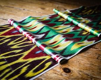 Handloomed Ikat Fabric UZ 17