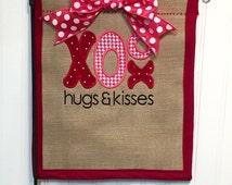 Valentine flag, valentine decor, valentine, valentines home decor, home decor, home and living, valentines decor, decor