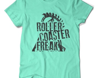 Roller Coaster Freak, T-shirt