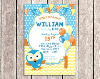 Giggle and Hoot Invitation | Giggle and Hoot - HT05-1