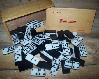 55 Piece Quality Domino Set, Double 9's