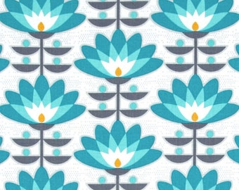 Deco Bloom in Mint - Joel Dewberry fabric
