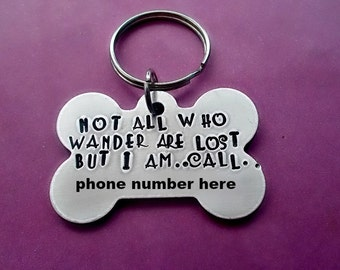 Microchipped Dog Tag Etsy