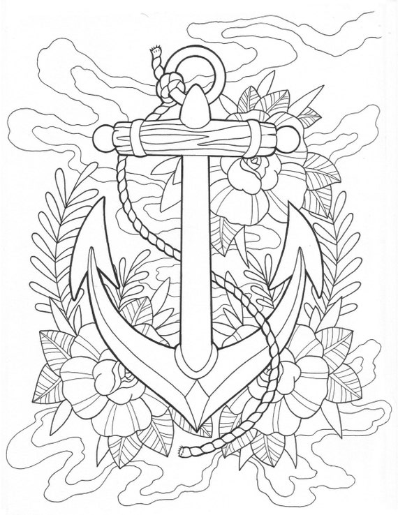 nautical coloring pages for adults - photo#20