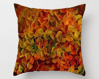 Couch pillow Cushion cover Gold green Red gold Orange Burnt Solid Pillows Mix and Match Decorative designer print pattern spring essentials