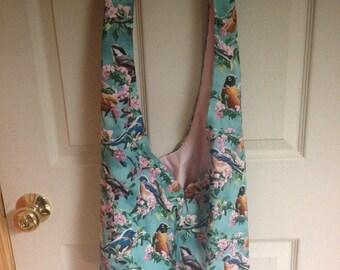 Spring Birds Hobo Bag
