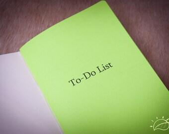 ToDo Refill Midori Traveler's Notebook - Journal Refills - FauxDori Refills - Notebook - Choise of 28 shades