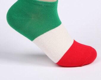 Pre-order: Italian flag socks