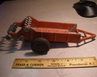 2 Vintage Metal Farm Toys