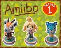 Series 1 Animal Crossing Amiibo Figures