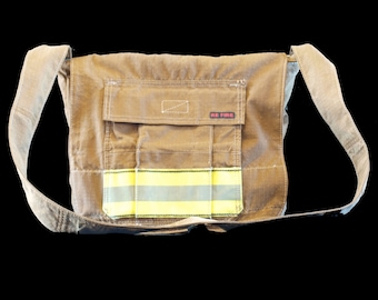 Deputy DB - Messenger Bag, upcycled from firefighter gear