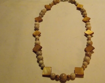 Hand made one of a kind Necklace Shell