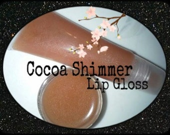 Cocoa Shimmer Lip Gloss
