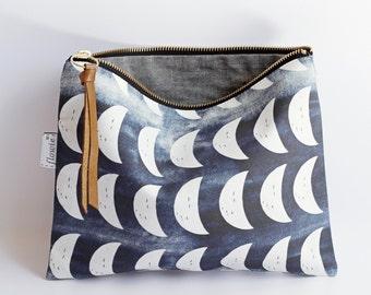 Large zipper pouch, Crescent