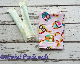 Tampon wallet, sanitary wallet, sanitary pouch, privacy pouch, tampon holder, discreet pouch, period pouch