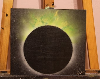 "13""x12"" Green Eclipse 2015"