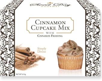 Cinnamon Cupcake Mix w/Cinnamon Frosting