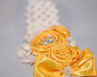 Vibrant Yellow Baby Headband (18-24 months)