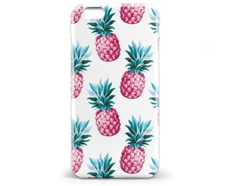 1425 // Blue and Pink Retro Pineapple Phone Case iPhone 5 5S, iPhone 6 6S, Samsung Galaxy S5, Samsung Galaxy S6, Samsung Galaxy S7 Edge Plus