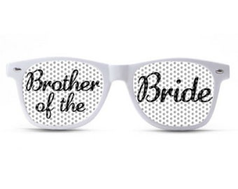 Brother of the Bride Sunglasses/Wedding Sunglasses/Wedding Party Shades