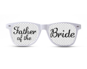 Father of the Bride Sunglasses/Wedding Sunglasses/Wedding Party Shades