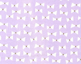 UK SHOP Bows Ties on Opal / Lavender from Michael Millers Wee Sparkle