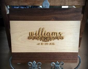 Cutting Board, Engraved Cutting Board, Personalized Cutting Board, Wedding Gift, Housewarming Gift