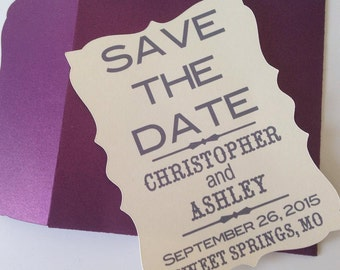 Country/Rustic Save The Dates