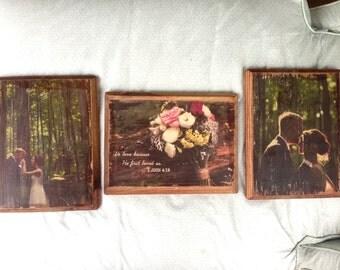 Custom Photo Wood Transfer
