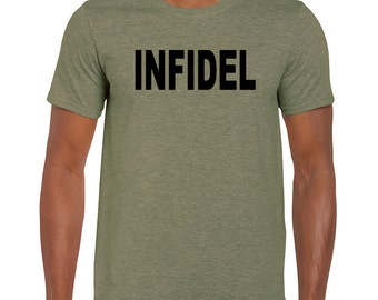 Infidel T Shirt Patriot Patriotic Liberty Freedom Truth