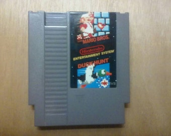 Super Mario Bros\Duck Hunt Nintendo Nes Game