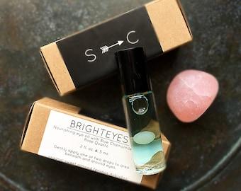 Bright Eyes- nourishing eye oil with Blue Chamomile and Rose Quartz