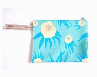 Floral Print Pouch by Tollaloo