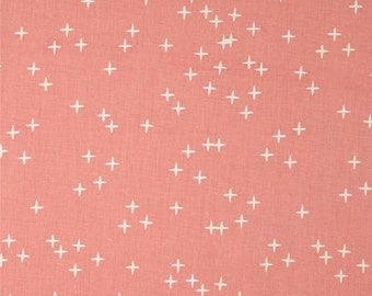 Sale! Birch Wink Pink Organic Cotton Interlock Knit Fabric