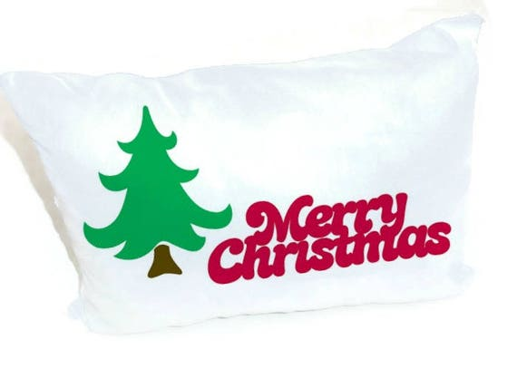 Merry christmas sign iron on fabric applique diy for Holiday t shirt bags