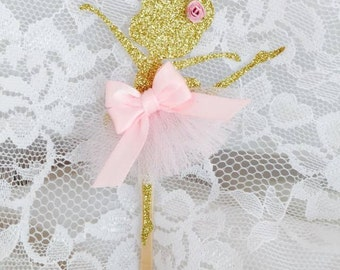Ballerina Cupcake Topper - Ballerina Decorations - Ballerina Birthday Party - Ballerina Baby Shower - Babyshower - Ballet - Customized