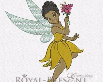 Machine Embroidery Design - Iridessa fairy