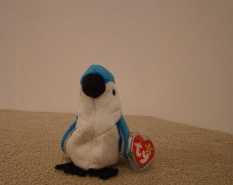 Rocket TY Beanie Baby Blue Bird