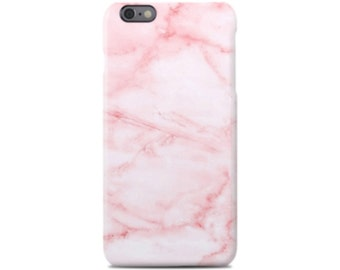 Pink Marble iPhone 5 Case, iPhone 5S Case, iPhone 5C Case, iPhone 5SE Case, iPhone SE Case, iPhone Case, iPhone Cover