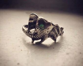 Vintage Elephant Ring - Size 7